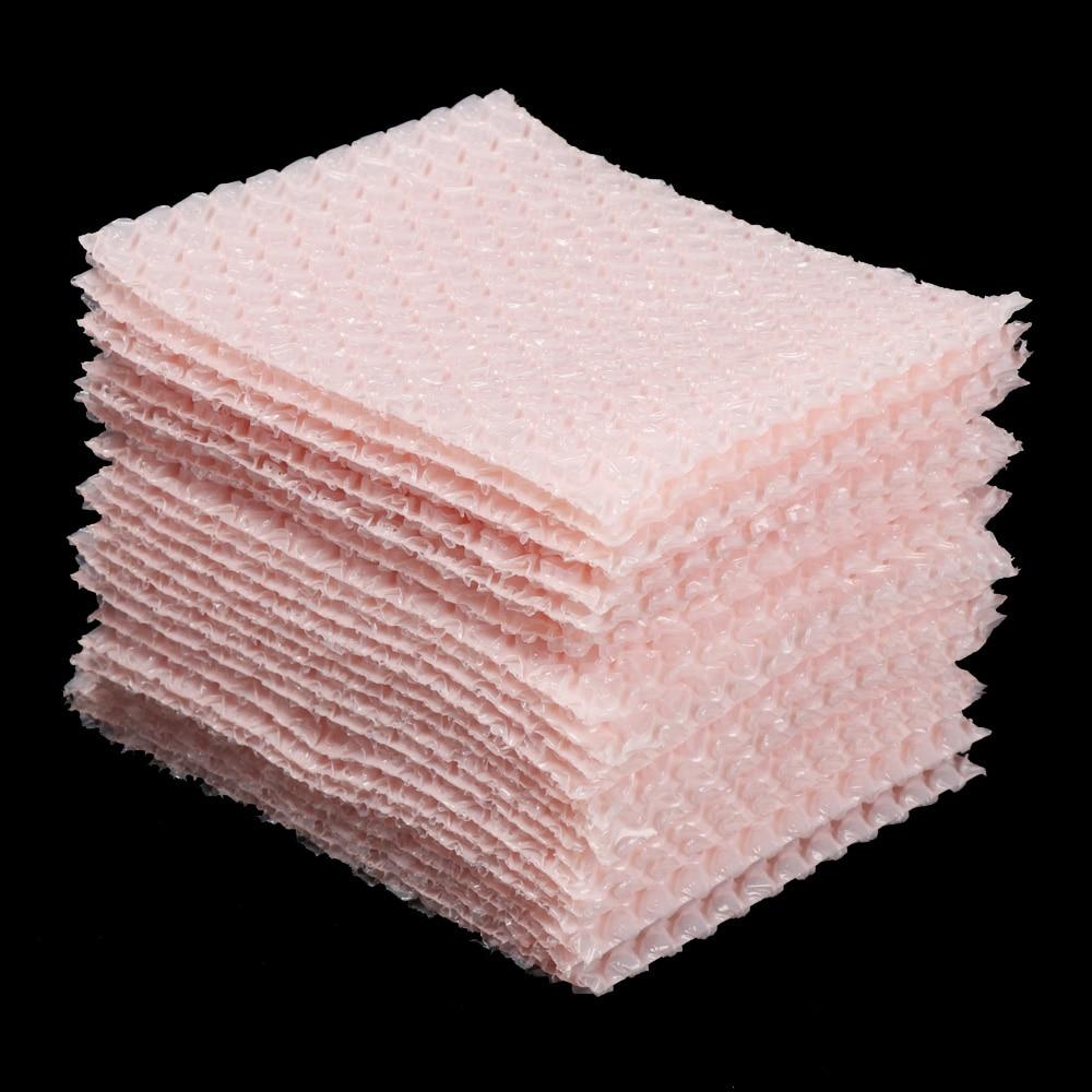 50 шт. 10x10 см конверты из пузырчатой пленки, конверты из пузырчатой пленки, мягкие конверты для подарочной упаковки, противоударные пенопласт...