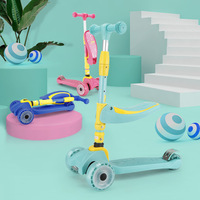 Manufacturers Direct Selling Box Scooter Two in One Children Scooter Toy Car Children Scooter Folding