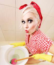 Новый стиль внешней торговли горячие продажи Европа и Америка бар Туалет креативный элемент декоративной живописи ванная комната Крытый