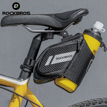 ROCKBROS 1.5L Bicycle Bag Water Repellent Durable Reflective MTB Road Bike With Water Bottle Pocket Bike Bag Accessories