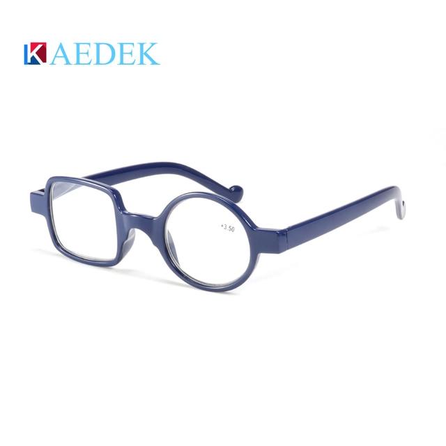 kaedek чтения очки для мужчин женщин круглый винтаж для светильник фотография