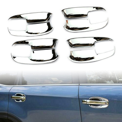Chrome Car door handles Scratches Resistant Cover Auto Handle Protection For Subaru forester 2013 2014 2015 2016 2017 2018