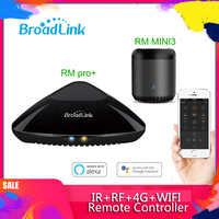 Broadlink RM PRO + RM33 2019 télécommande intelligente universelle domotique intelligente WiFi + IR + RF commutateur pour téléphone Android IOS
