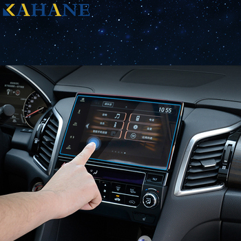 KAHANE Car Styling Center Console LCD Screen Sticker GPS Navigation Screen Tempered Steel Protective Film FOR Ford Kuga Escape image