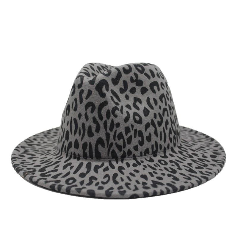 Cotton Fedora Hat Cap trilby Mens GRAY Womens Unisex fashion style NEW