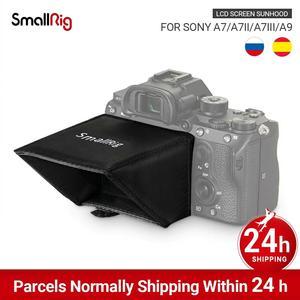 Image 1 - SmallRig A7M3 LCD ekran güneşlik Sony A7 A7II A7III A9 serisi kameralar güneş gölge 2215