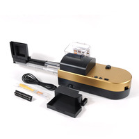 High Grade Electric Cigarette Automatic Cigarette Rolling Machine Roll DIY Smoking Tool 5 8 minutes for 50 cigarettes