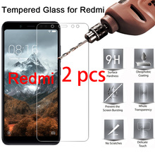 2 pcs! Tempered Protective Safety Glass for Xiaomi Redmi Note 7 6 5 Pro 5A Prime Screen Protector for Redmi Note 4X 4 3 2 protective pc clear screen films w cleaning cloth for xiaomi mione 1s transparent 6 pcs