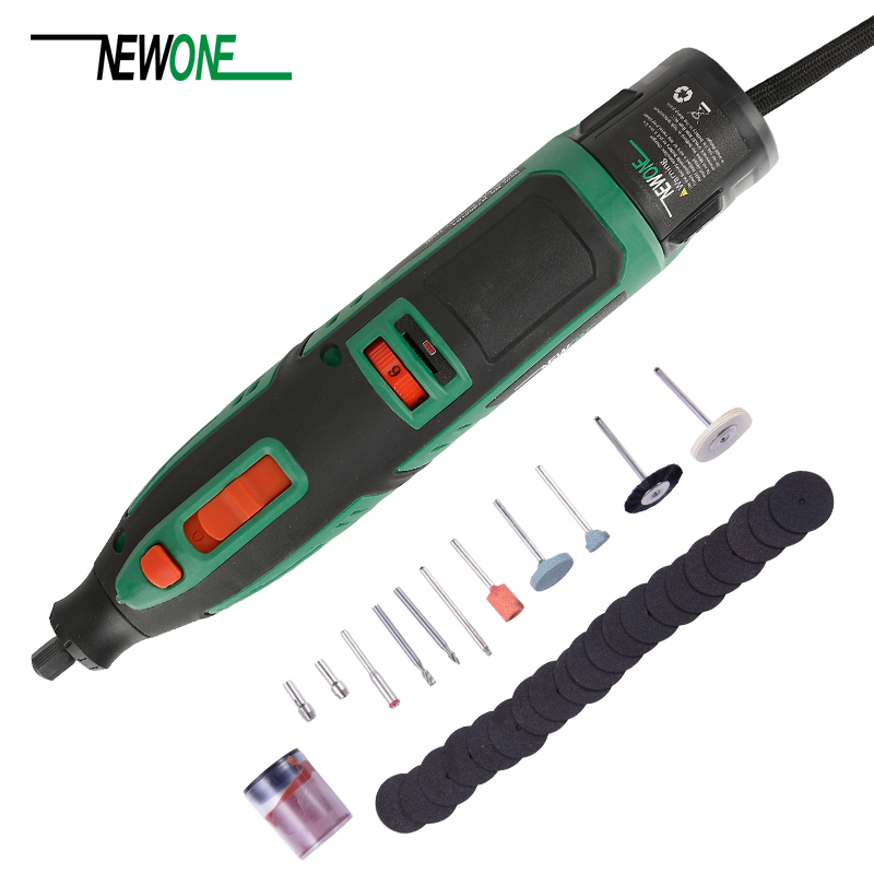 Mini perceuse électrique, batterie au Lithium, outil Dremel, outil rotatif à vitesse Variable, Mini-foret électrique, 6 niveaux de vitesse avec 13 accessoires