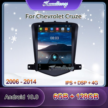 Multimedia-Player Car-Radio Android 10.0 Auto Dvd Tesla-Style Chevrolet Cruze Gps Navigation