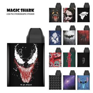 Magia tiburón de Batman serpiente hombre araña Joker puntada pelota de dragón No se desvanecen de funda de Film para Uwell Caliburn Koko
