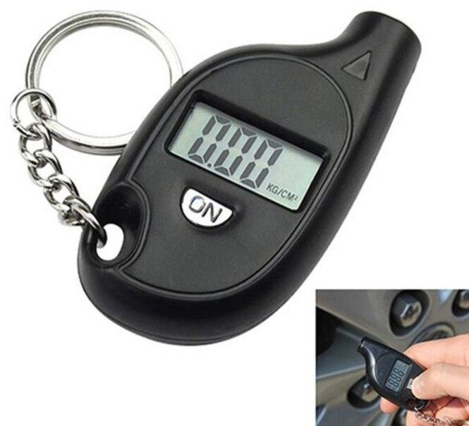 Портативный цифровой автомобильный измеритель давления в шинах мотоциклетный автомобильный измеритель давления в шинах с ЖК-дисплеем раб...