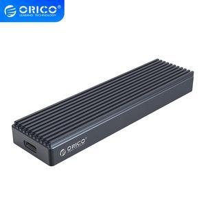 Ящик для SSD ORICO M.2 для NVME PCIE M Key M + B, диск SSD USB C 10 Гбит/с, жесткий диск M2 SATA SSD чехол с кабелем Type C-C