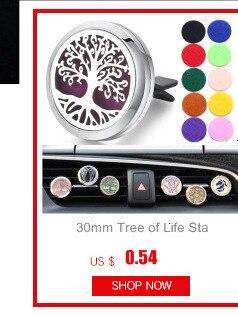 30 мм Дерево жизни освежитель воздуха для автомобиля из нержавеющей стали духи эфирное масло диффузор медальон случайная отправка 1 шт масляные подушечки в подарок 4579