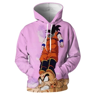 3D Dragon Ball Hoodie Men DBZ Casual Pullovers Sweatshirts Anime Wukong Men Hoodies Long Sleeve Polyester Custom Hoodie Male(China)