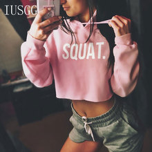 купить Pink Letter Drawstring Hoodie Cut Out Sleeve Crop Sweatshirt Women Casual Pullover Long Sleeve Crop Coat  Hoodie Teens Girls Jum дешево