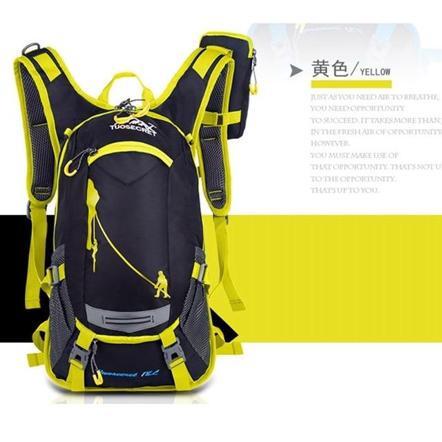 18l impermeável mochila esporte ao ar livre mochila saco de água acampamento caminhadas ciclismo mochila de água 4