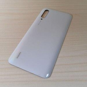 Image 4 - バッテリーカバーシャオ mi mi CC9 バックガラスパネルリアためシャオ mi mi CC9e CC9 バッテリーカバー交換