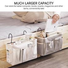Organizador colgante Caddy, bolsa de almacenamiento para cabecera de cama, bolsa colgante para literas y camas de Hospital, rieles de cama para dormitorios