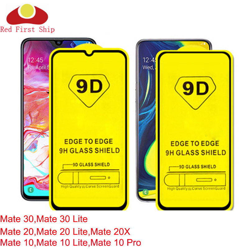 10Pcs/lot 9D Tempered <font><b>Glass</b></font> For <font><b>Huawei</b></font> <font><b>Mate</b></font> 30 <font><b>20</b></font> 10 Lite Screen Protector <font><b>Mate</b></font> 20X cover film Movie 9H <font><b>MATE</b></font> 10 <font><b>Pro</b></font> image