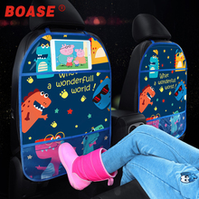 Cover Tablet-Stand Hanging-Bag Storage-Holder Back-Protector Car-Accessories Cartoon
