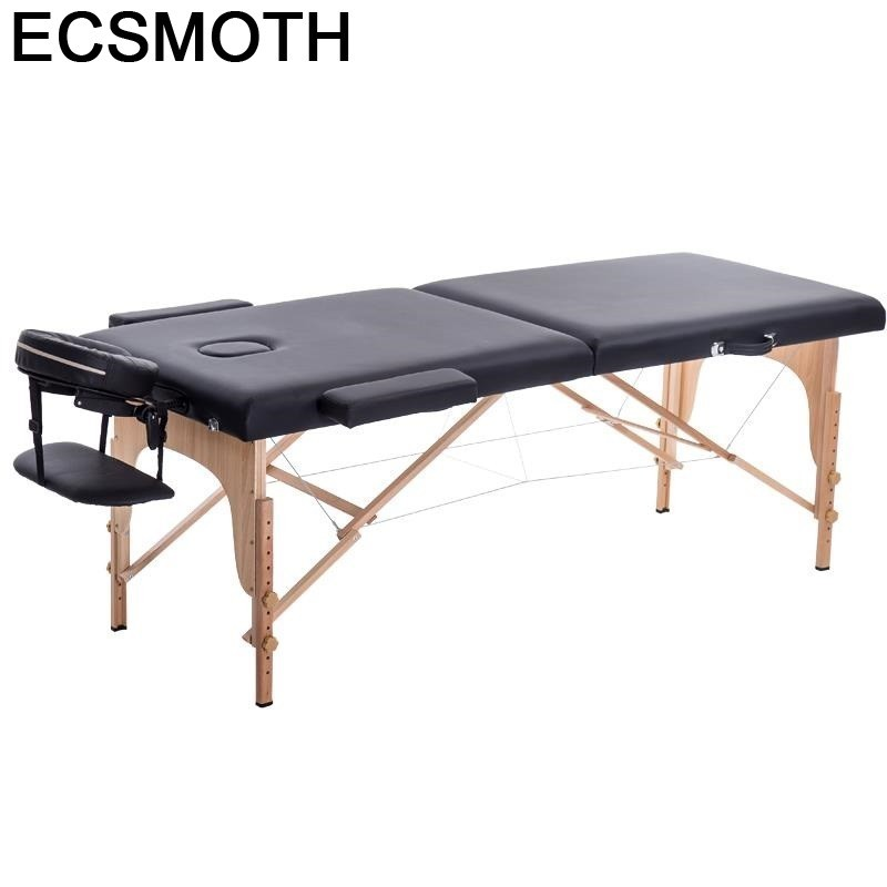 Camilla Plegable Massagetafel Pedicure De Pliante Tattoo Cama Para Masaje Beauty Salon Furniture Folding Chair Table Massage Bed