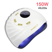 Brand Moder3 150W UV Lamp Nail Dryer Pro UV LED Nail Lamp Fast Curing Gel Polish Ice Lamp for Nail Manicure Machine Tools 36w fast uv nail dryer resin uv lamp light for any uv gel polish jewelry tools