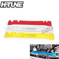 Aluminium Poliert Heizkörper Kühlung Luft Umleitung Platte für Hilux Vigo SR SR5 MK5 2005 2012-in Montageteile aus Kraftfahrzeuge und Motorräder bei
