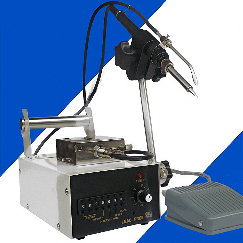 Foot Switch Send Tin Soldering Machine Soldering,Automatic Tin Feeding Machine Constant Temperature Soldering Iron