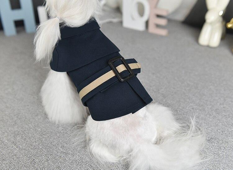 para cães casacos roupas de luxo pet blusão roupas para cães ee6fy