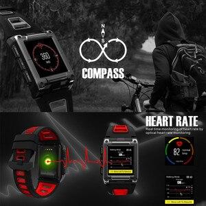 Image 4 - Amynikeer s929 relógio inteligente profissional natação ip68 design à prova dip68 água gps esportes ao ar livre smartwatch masculino rastreador de fitness