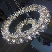 2021 flor lustre de cristal para decoração para casa g4 220v/110v winford