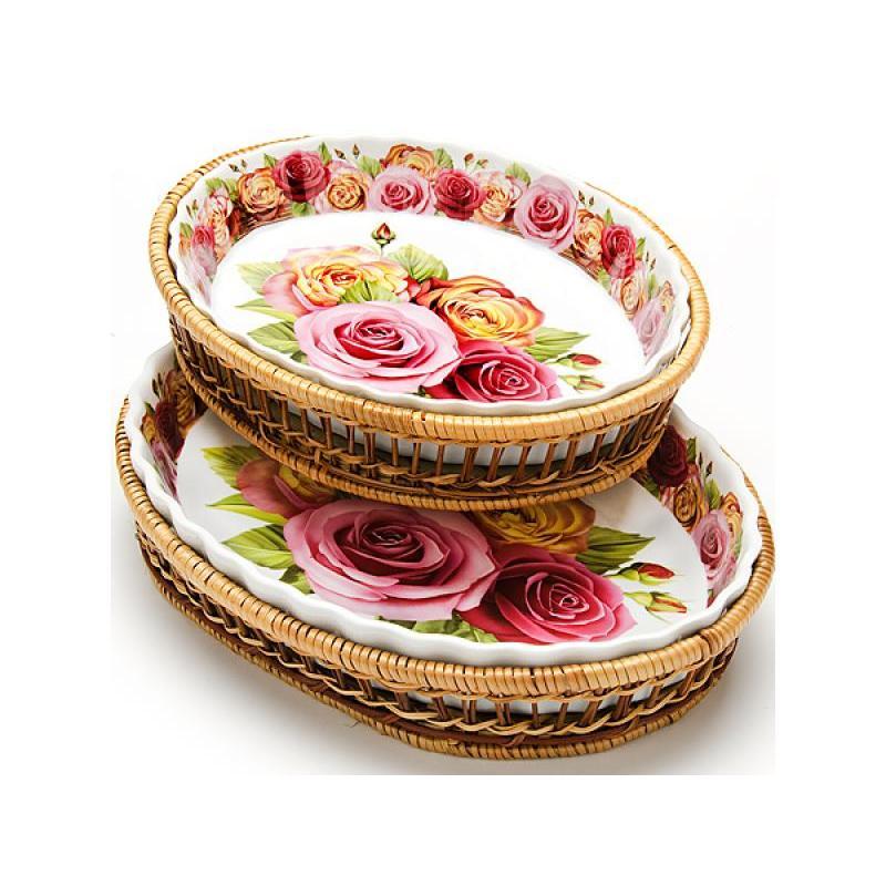 Набор форм для запекания MAYER & BOCH, 4 предмета, розы цена