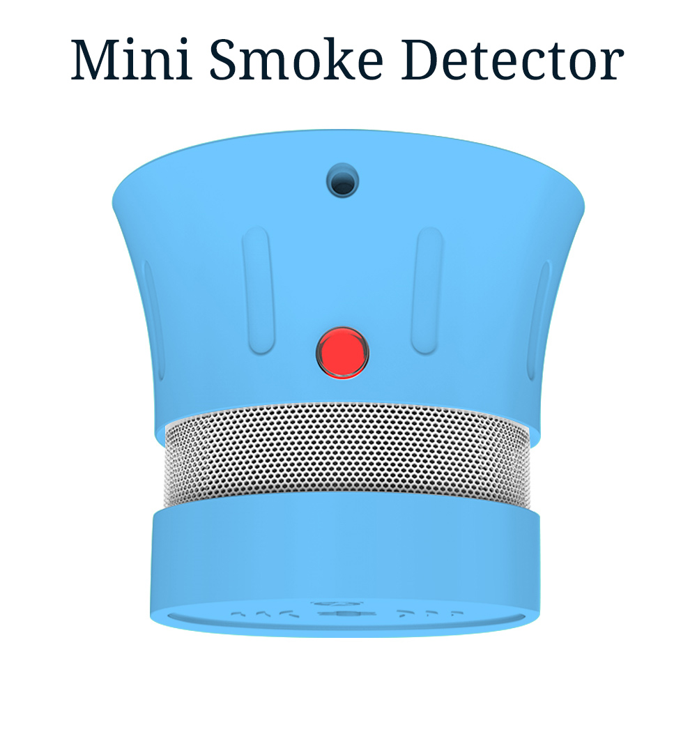 CPVan FSD001 Blue Color Smoke Detector CE EN14604 Independent Photoelectric Smoke Sensor Fire For Home Security Rookmelder