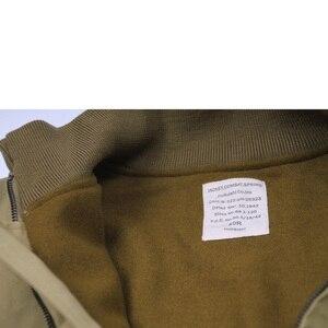 Image 3 - جاكيت جيب M41 بتصميم متماثل من FURY مصنوع من الصوف العتيق طراز WW2 معطف عسكري للرجال لخريف/ربيع الجيش ملابس خارجية من مقاس 36 44 #