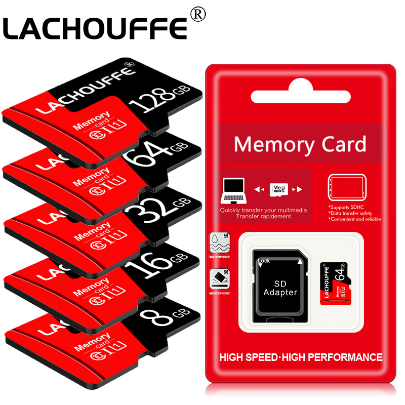 Tarjeta de memoria 16GB 128GB 64GB U1 32GB tarjeta Micro sd Clase 10 UHS-1 tarjeta flash memoria Microsd TF/SD tarjetas para tableta
