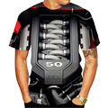 Мужская мотоциклетная футболка, черная футболка в стиле панк, забавная футболка в стиле ретро, лето 2020