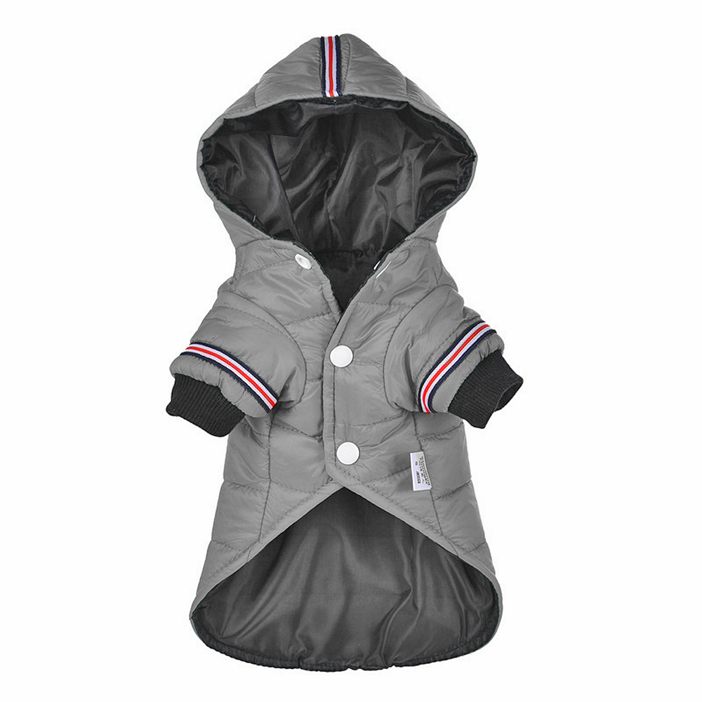Waterproof Dog Jacket with Hoodie Ideal for Small and Medium Dogs as Dog Clothing 2