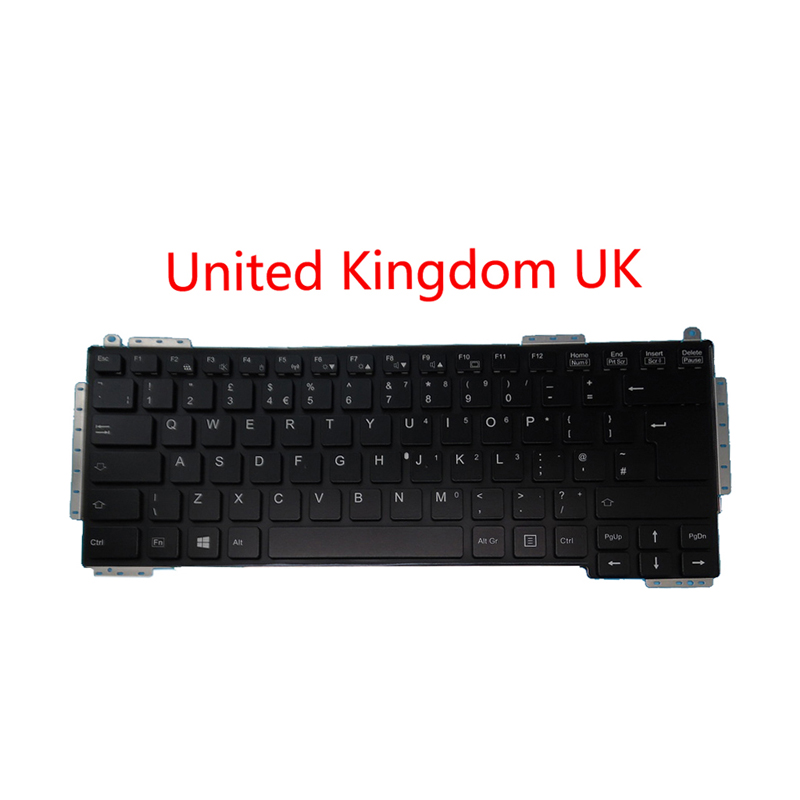 Image 3 - Laptop Backlit US RU UK PO IT SW BE Keyboard For Fujitsu S904 