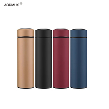 450ML Hot Water Thermos Tea Vacuum Flask with Filter Stainless Steel 304 Sport Thermal Cup Coffee Mug Tea Bottle for Winter 450ml hot water thermos tea vacuum flask with filter stainless steel 304 sport thermal cup coffee mug tea bottle for winter
