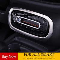 3D Personalizzato in Fibra di Carbonio Aria Border Sticker per Mercedes Smart 453 Fortwo Forfour Styling Auto Accessori Auto Decorazione