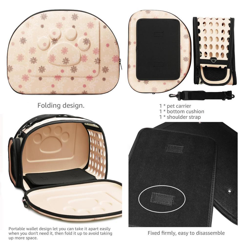Portable Large Dog Backpack Carrier Saddle Bag 5