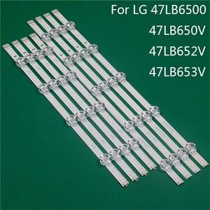 Pieza de sustitución de iluminación de TV LED para LG 47LB6500 47LB650V 47LB652V 47LB653 barra de luz de fondo LED regla de Línea DRT3.0 47 A B