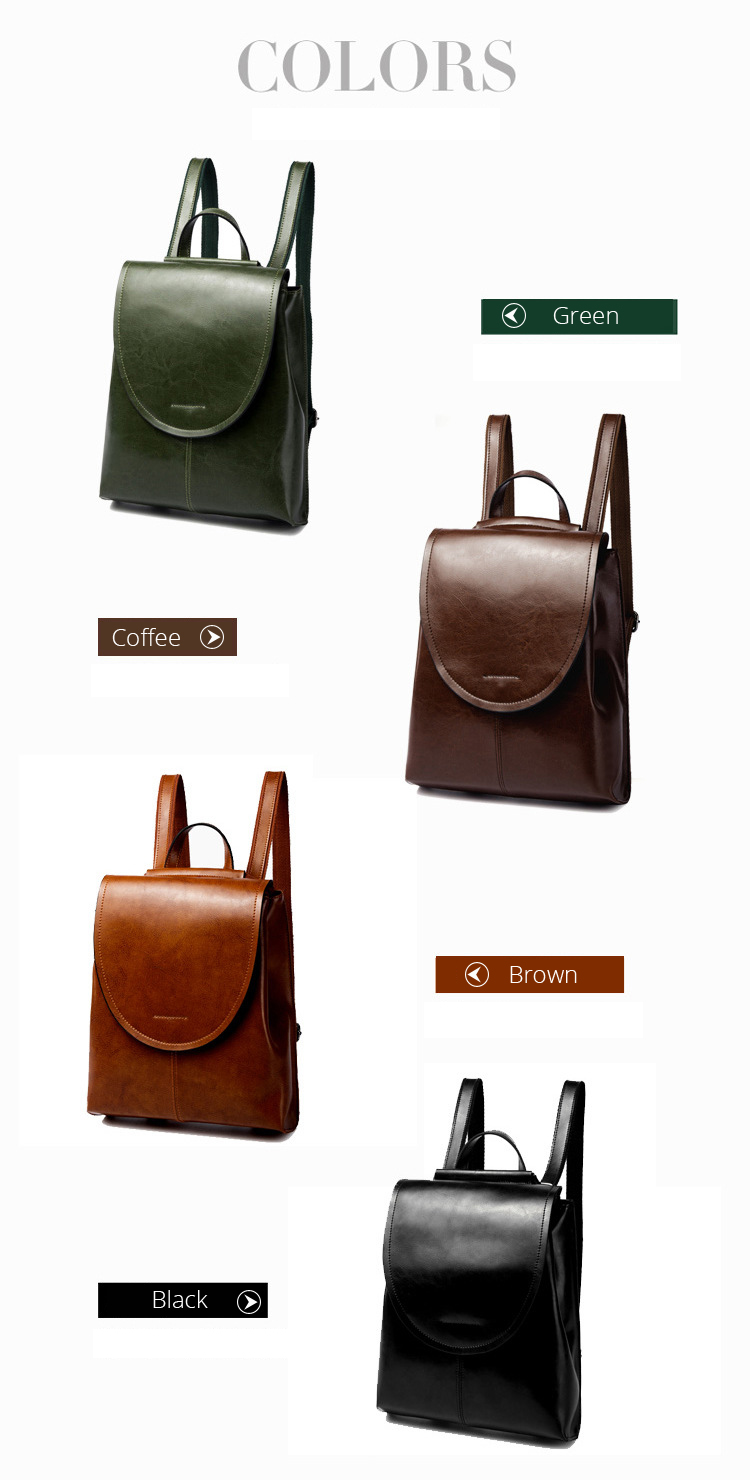 Genuine Leather Backpack Women High Quality Split Leather Female Fashion Designer Travel Backpack Rucksack Back Pack Woman Girls