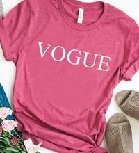8 Colors Vogue Letter Print T Shirt Women Short Sleeve O Neck Loose Tshirt Summer Women Causal Tee Shirt Tops Camisetas Mujer