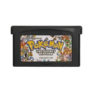 Image 1 - For Nintendo GBA Video Game Cartridge Console Card Poke Series Top Secret English Language US Version