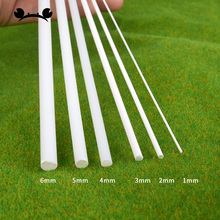 5pcs/lot ABS plastic round rod model making scenery architectural constructions model scenery Dia 2-5mm