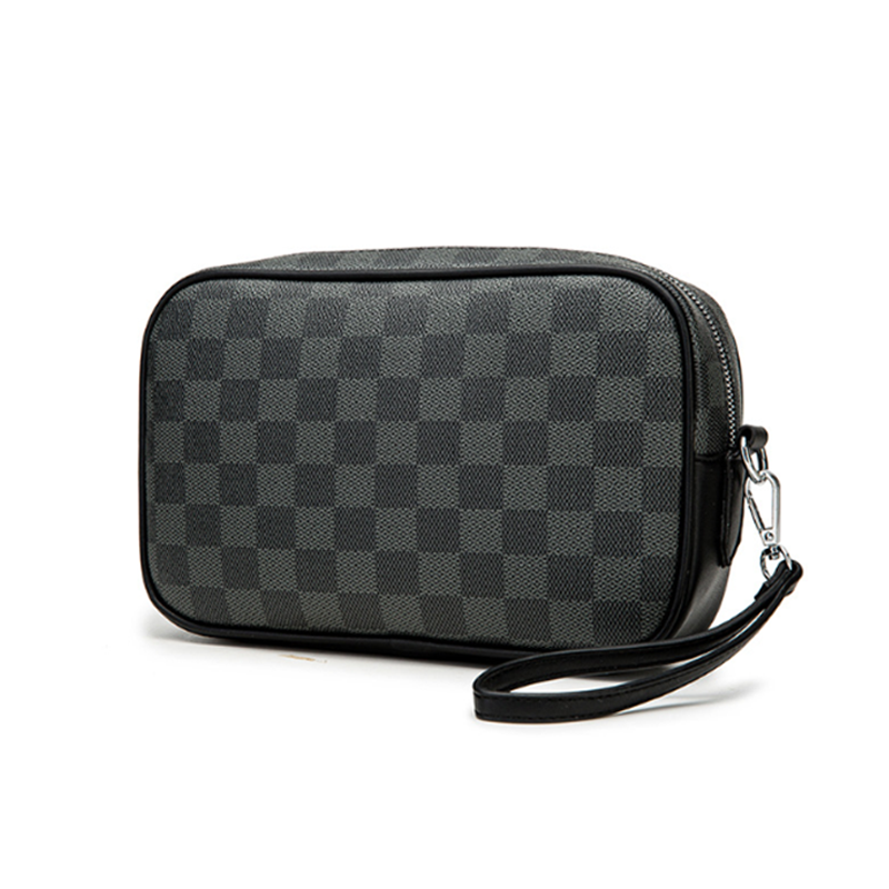 HORIZONPLUS Luxury Trendy Famous Brand European And American Men Clutch Grab Bag
