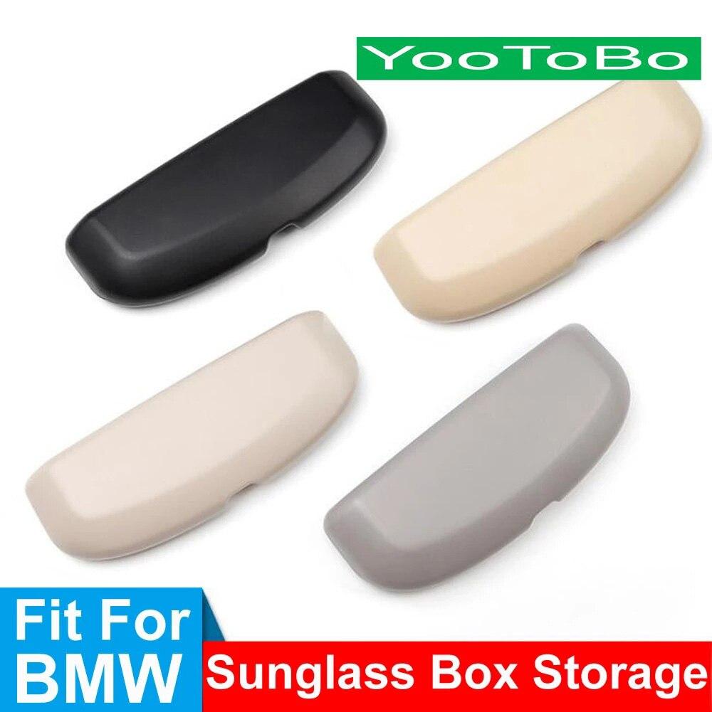 Автомобильный футляр для очков, держатель для хранения, чехол для солнцезащитных очков для BMW X1, F48, E84, X3, F25, G01, X5, F15, F20, F30, G20, F10, G30, серия 1, 3, 5, а...