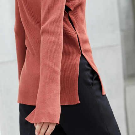 ใหม่ 2020 เสื้อกันหนาวผู้หญิงเสื้อสเวตเตอร์ถักเสื้อกันหนาวเสื้อแขนยาวลำลองหญิง V คอผู้หญิง Cardigans Tops LX1593